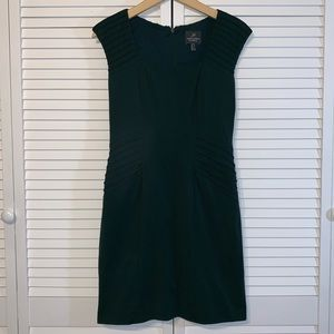 Adrianna Papell green cocktail dress